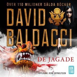 De jagade (ljudbok) av David Baldacci