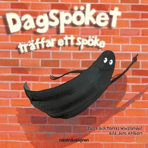 Dagspöket träffar ett spöke (ljudbok) av Jujja
