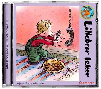 Lillebror leker - Den hemliga kojan (ljudbok) a