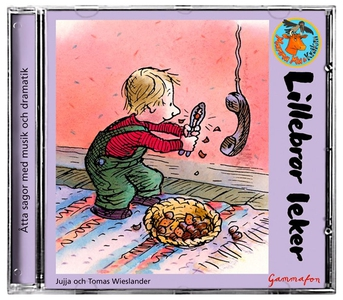 Lillebror leker - Hallå i telefon (ljudbok) av
