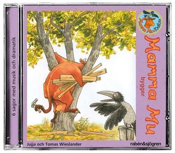 Mamma Mu bygger (ljudbok) av Jujja Wieslander