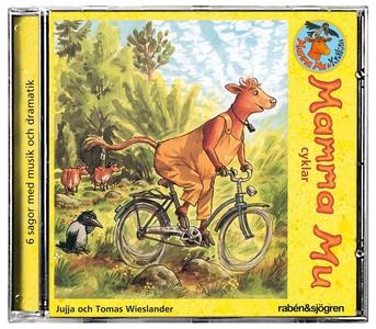 Mamma Mu cyklar (ljudbok) av Jujja Wieslander