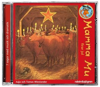 Mamma Mu firar jul (ljudbok) av Jujja Wieslande