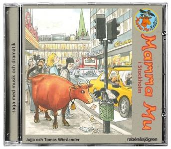 Mamma Mu i Stockholm (ljudbok) av Jujja Wieslan
