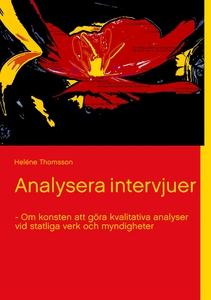 Analysera intervjuer - Om konsten att göra kval
