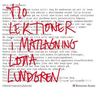 Tio lektioner i matlagning (ljudbok) av Lotta L