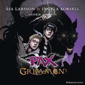 PAX. Grimmen (ljudbok) av Åsa Larsson, Ingela K