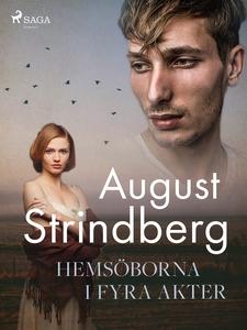 Hemsöborna i fyra akter (e-bok) av August Strin