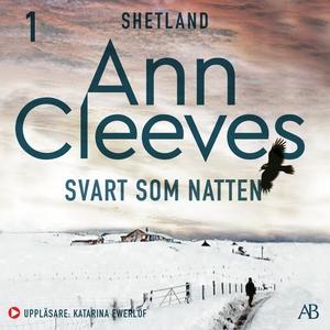 Svart som natten (ljudbok) av Ann Cleeves