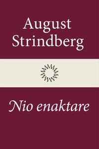 Nio enaktare (e-bok) av August Strindberg