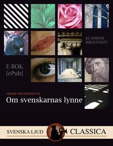 Om svenskarnas lynne (e-bok) av Verner von Heid