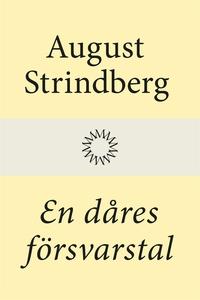 En dåres försvarstal (e-bok) av August Strindbe