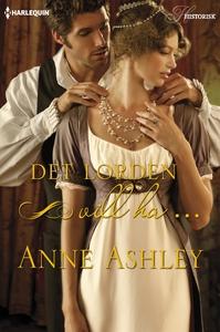 Det lorden vill ha ... (e-bok) av Anne Ashley