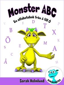 Monster ABC. En alfabetsbok från A till Ö (e-bo