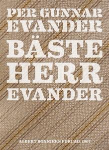 Bäste herr Evander (e-bok) av Per Gunnar Evande