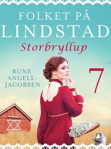 Folket på Lindstad 7 -Storbryllup (ebok) av R