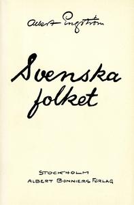 Svenska folket (e-bok) av Albert Engström