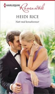 Natt med konsekvenser (e-bok) av Heidi Rice