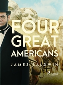 Four Great Americans:  Washington, Franklin, Webster, Lincoln.