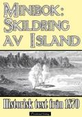 Minibok: Skildring av Island år 1870