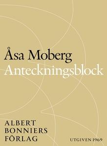 Anteckningsblock (e-bok) av Åsa  Moberg