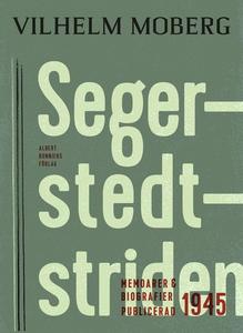 Segerstedtstriden (e-bok) av Vilhelm Moberg