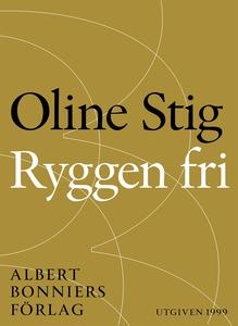 Ryggen fri : Noveller (e-bok) av Oline Stig