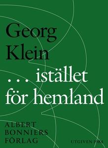 ... i stället för hemland (e-bok) av Georg Klei
