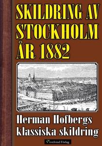 Skildring av Stockholm 1882 (e-bok) av Mikael J