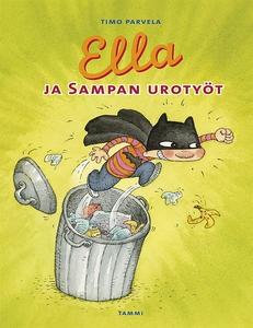 Ella ja Sampan urotyöt (e-bok) av Timo Parvela,