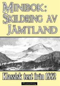 Minibok: Skildring av Jämtland 1882 (e-bok) av