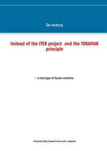 Instead of the ITER project  and the TOKAMAK pr