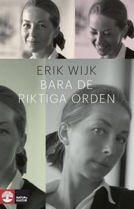 Bara de riktiga orden (e-bok) av Erik Wijk