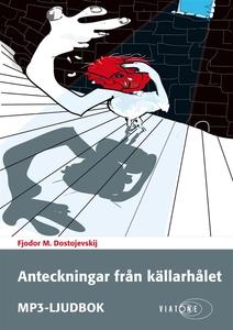 Anteckningar från källarhålet (ljudbok) av Fjod