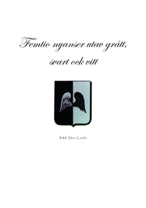 Femtio nyanser utav grått, svart ock vitt (e-bo