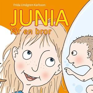 Junia får en bror (ljudbok) av Frida Lindgren K