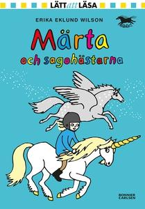 Märta och sagohästarna (e-bok) av Erika Eklund,