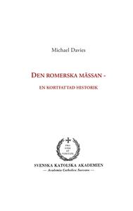 Den romerska mässan: en kortfattad historik (e-