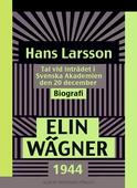 Hans Larsson : Tal vid inträdet i Svenska Akademien den 20 december 1944