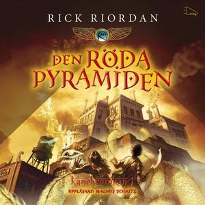 Den röda pyramiden (ljudbok) av Rick Riordan