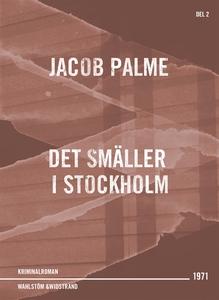 Det smäller i Stockholm : Kriminalroman (e-bok)