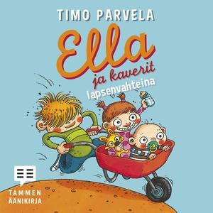 Ella ja kaverit lapsenvahteina (ljudbok) av Tim