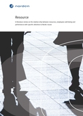 Resource: A literature review on the relationship between resources, employees well-being and performance with specific attention to Nordic issues