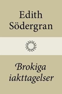 Brokiga iakttagelser (e-bok) av Edith Södergran