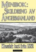 Skildring av Ångermanland - Minibok med klassisk text från 1882