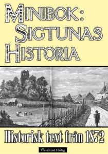 Sigtunas tidiga historia - Minibok med text frå