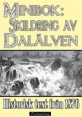 Skildring av Dalälven - Minibok med text från 1876