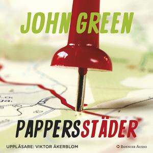 Pappersstäder (ljudbok) av John Green
