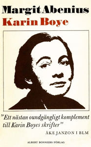 Karin Boye (e-bok) av Margit Abenius