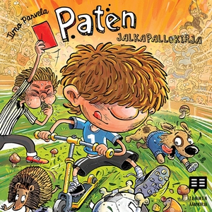 Paten jalkapallokirja (ljudbok) av Timo Parvela